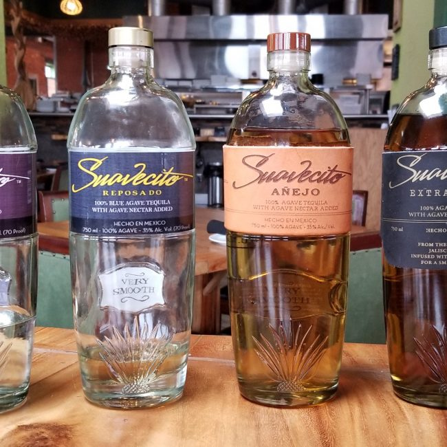 Tequila Dinner with Suavecito