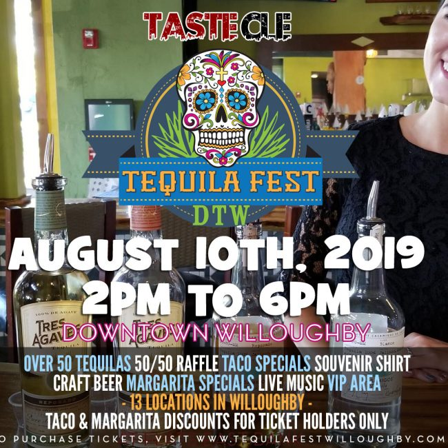Tequila Fest Willoughby 2019
